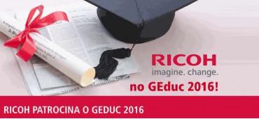 Ricoh patrocina GEduc 2016
