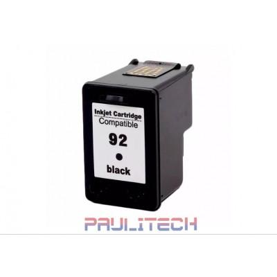 CARTUCHO DE TINTA COMPATÍVEL 9362 - #92 BLACK 13ML TP